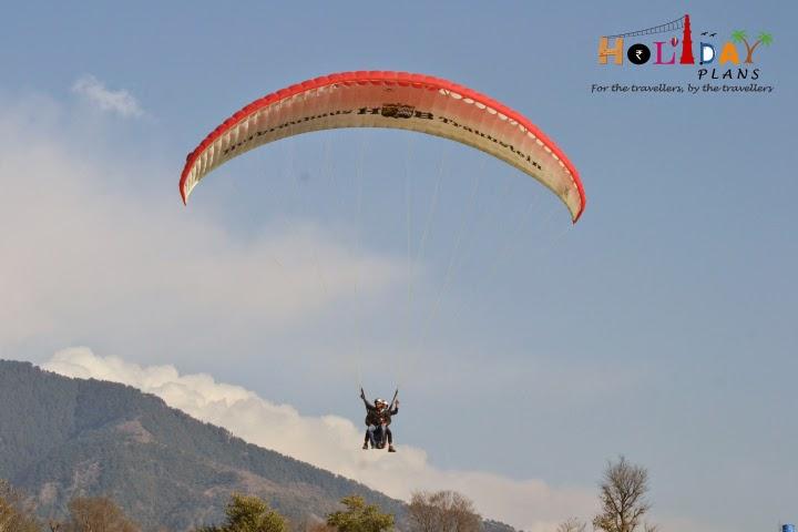 Aditya is relaxed while landing