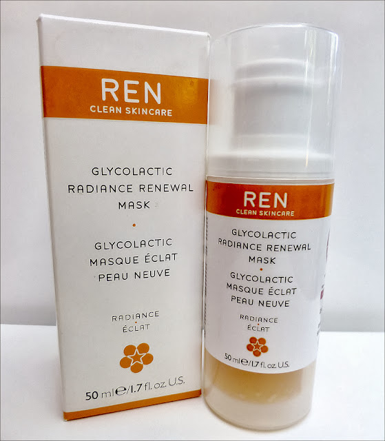 REN Glycolactic Radiance Renewal Mask