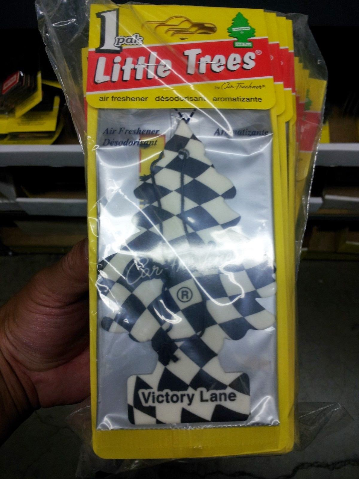 http://www.ebay.com/itm/Little-Trees-Hanging-Car-and-Home-Air-Freshener-Victory-Lane-Pack-of-24-/141464261239