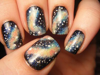 no nekkid nails galaxy nails
