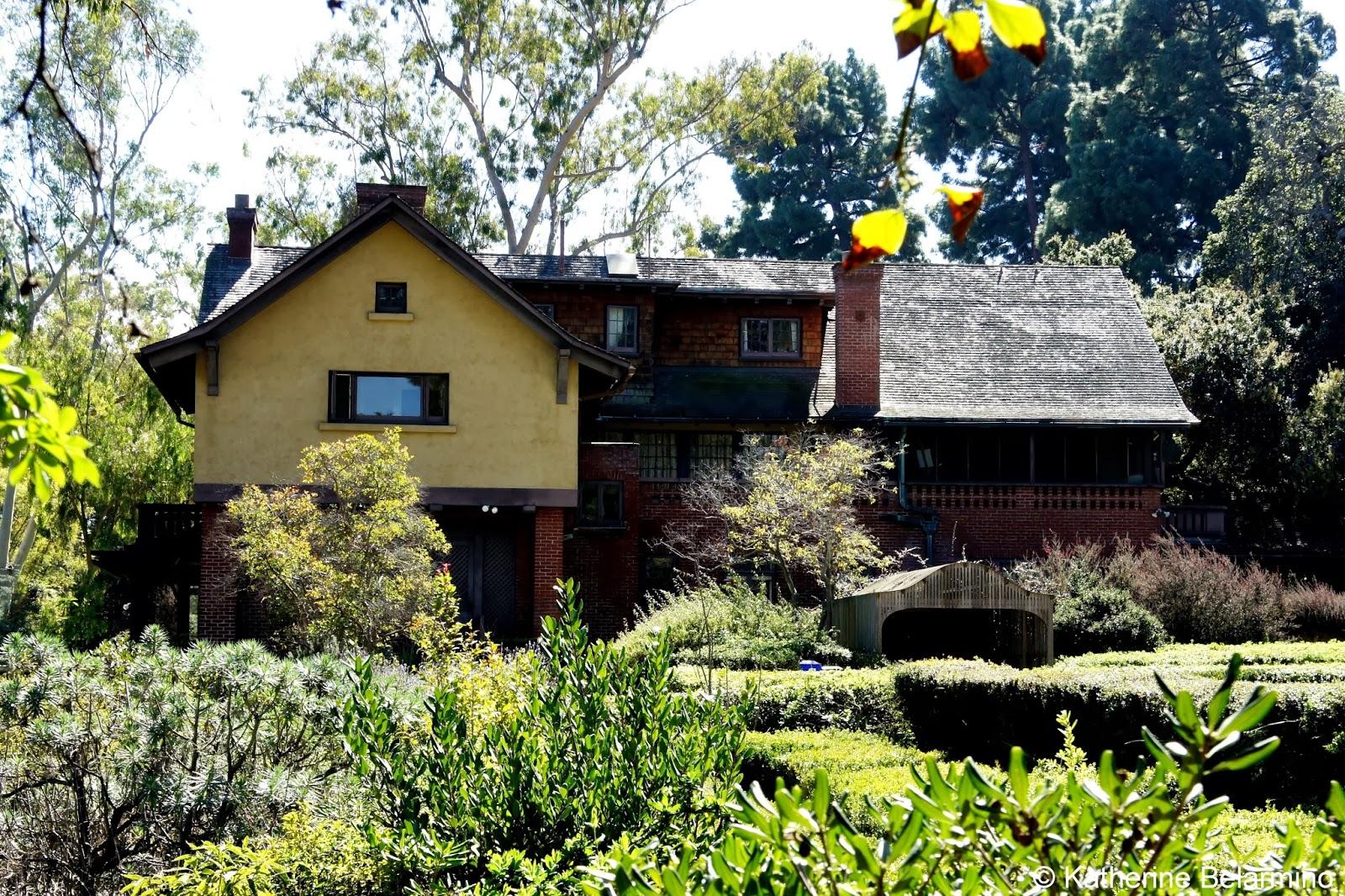 Marston House & Gardens San Diego California