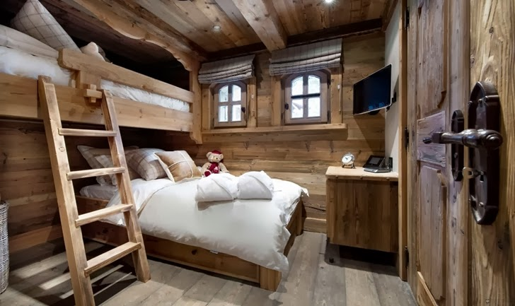 Wooden kid's bedroom