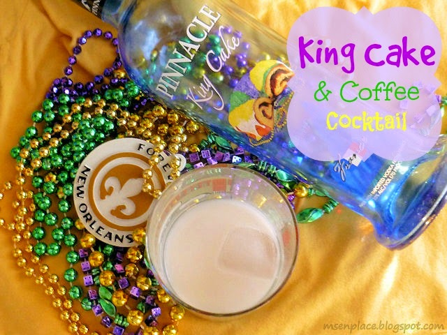 King Cake & Coffee Cocktail | Ms. enPlace