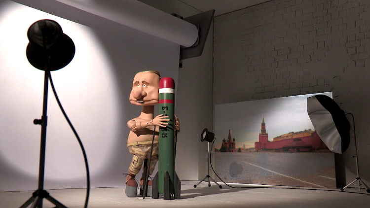 Кукла Путина