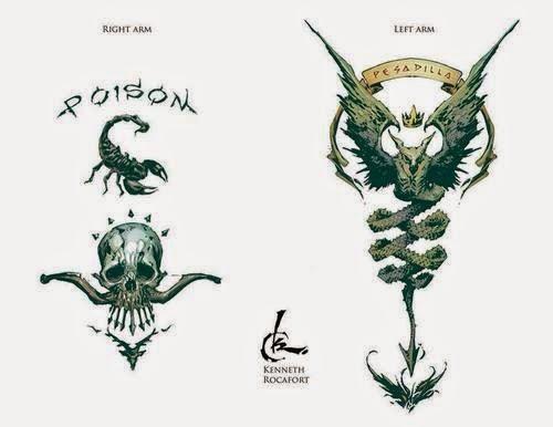 Roy Harper Tattoodesign