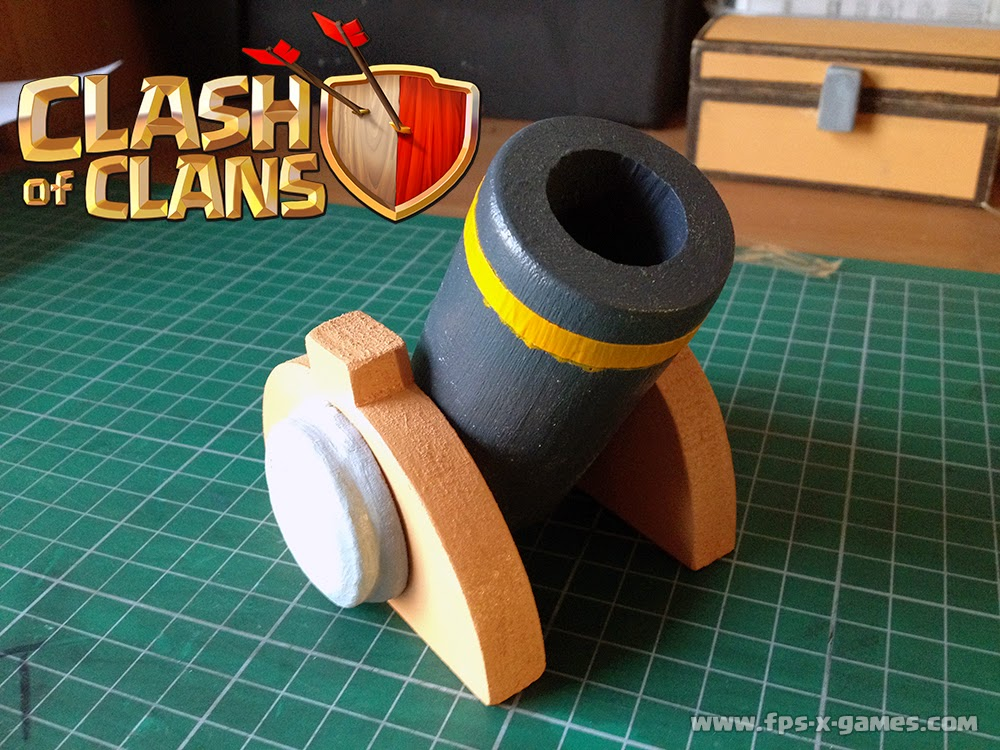 How to create a homemade Clash of Clans Mortar