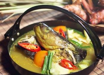 Resep Masakan Gangan Asam Patin