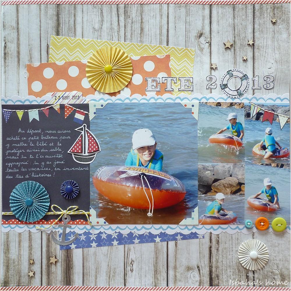 """Fancy Pants """"Nautical"""" + Lawn Fawn """"Float my boat"""""""