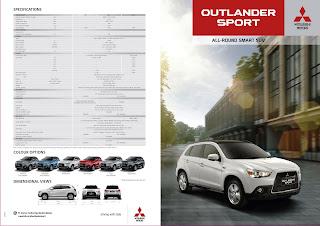 Brosur Outlander Sport