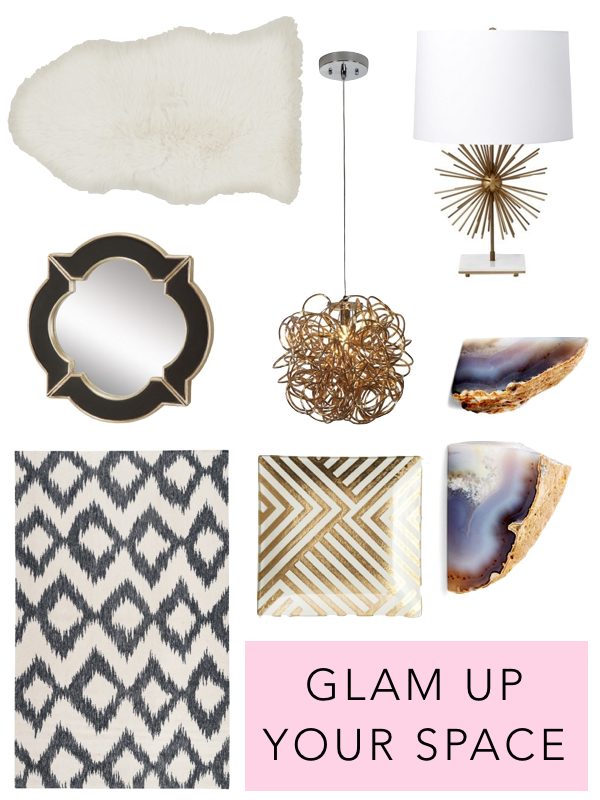 Glamourous Accent Pieces For Your Home