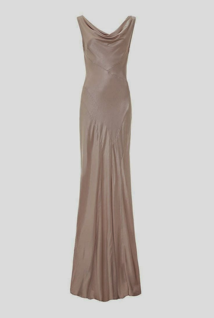 Ghost Nude Dress: Affordable Wedding Dresses - Gold