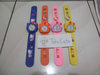 Jam Tangan Anak Hello Kitty # JM05