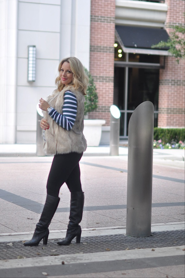 Winter/Fall Fashion Faux Fur Vest