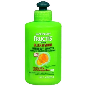Garnier, Garnier Fructis, Garnier Fructis Sleek & Shine Intensely Smooth Leave-In Conditioning Cream, Garnier Fructis leave-in conditioner, hair products, conditioner, leave-in conditioner
