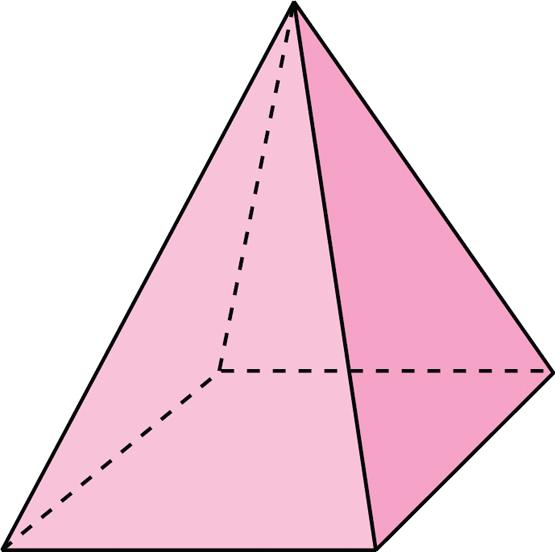 resum de lector de Ámbito Científico : Cuerpo Geométrico = Pirámide