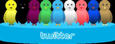 cara membuat burung twitter terbang pada blog