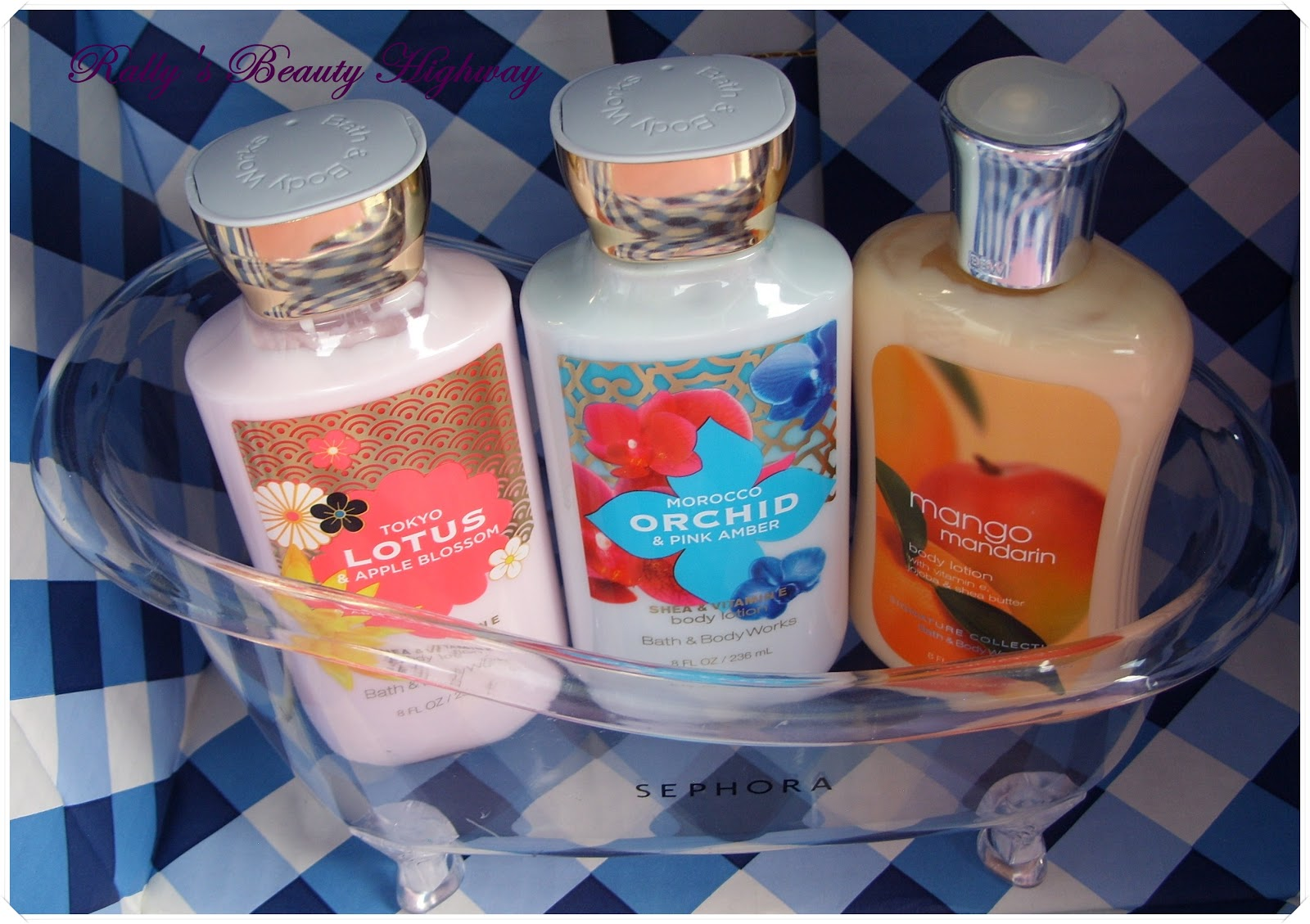 Bath and Body Works, Body care