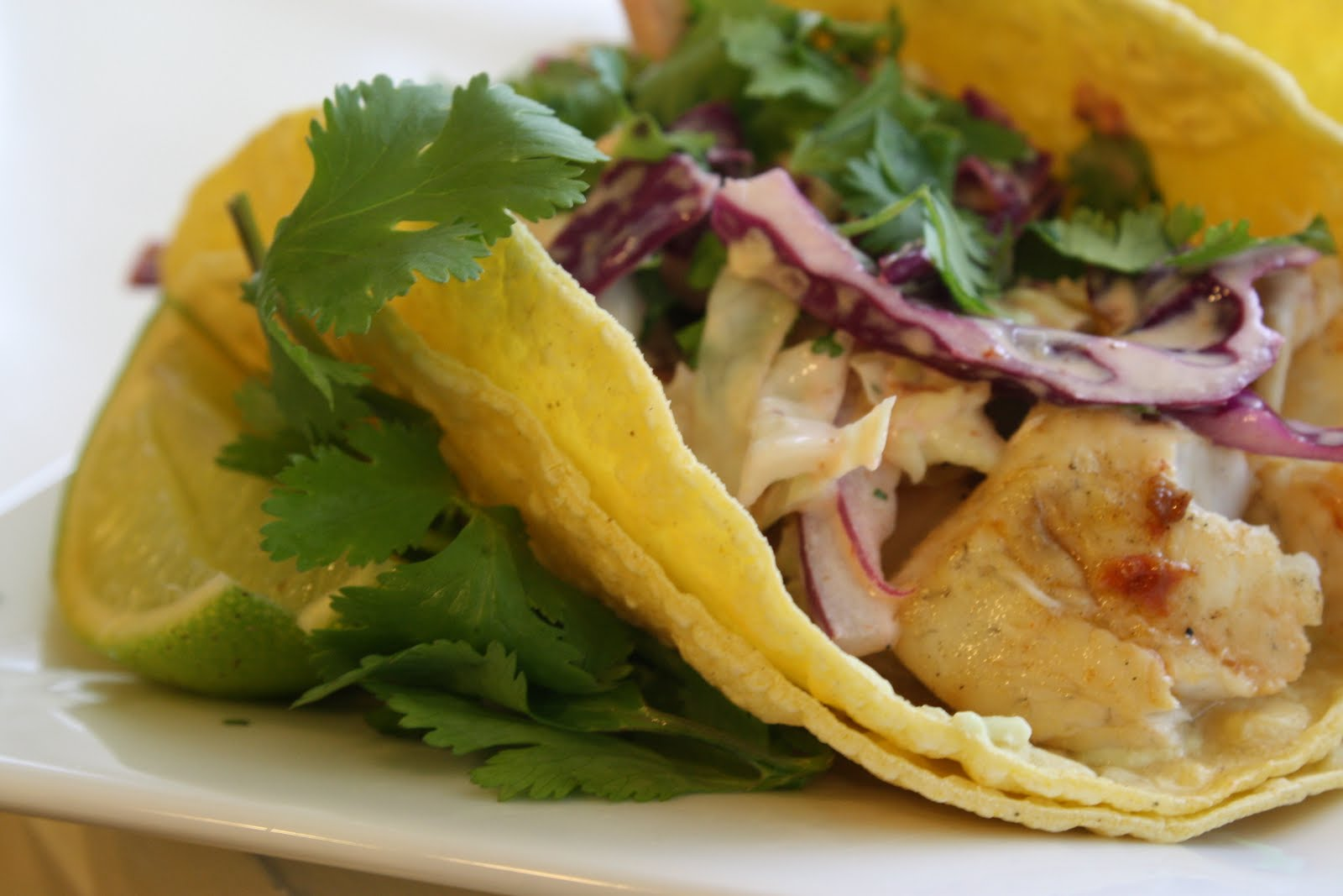 Gorgeous Gourmet: Spicy Fish Tacos with Southwest Slaw