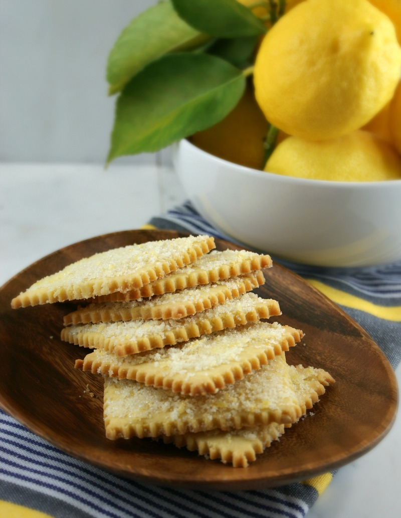 ... Suburban Gourmet: Lemon Scented Olive Oil Cookies | Secret Recipe Club