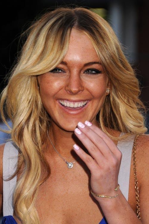 lohan teeth Lindsay