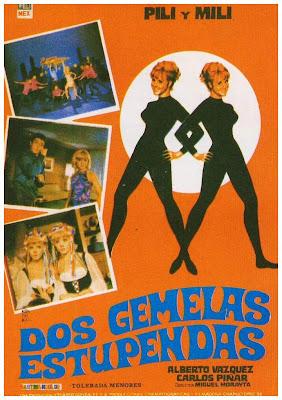 Dos gemelas estupendas (Vestidas y alborotadas) (1967)