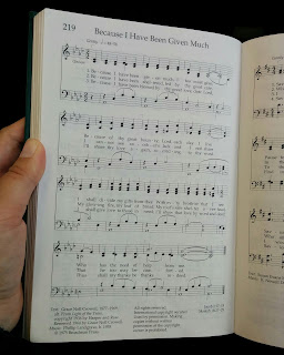 Because I Have Been Given Much - Hymn