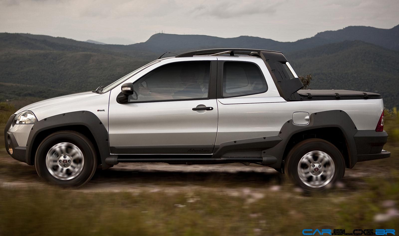 Fiat strada é líder de vendas no segmento de pick ups leves há 12