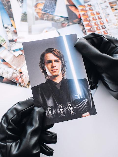 Darth Vader преглежда семейният албум