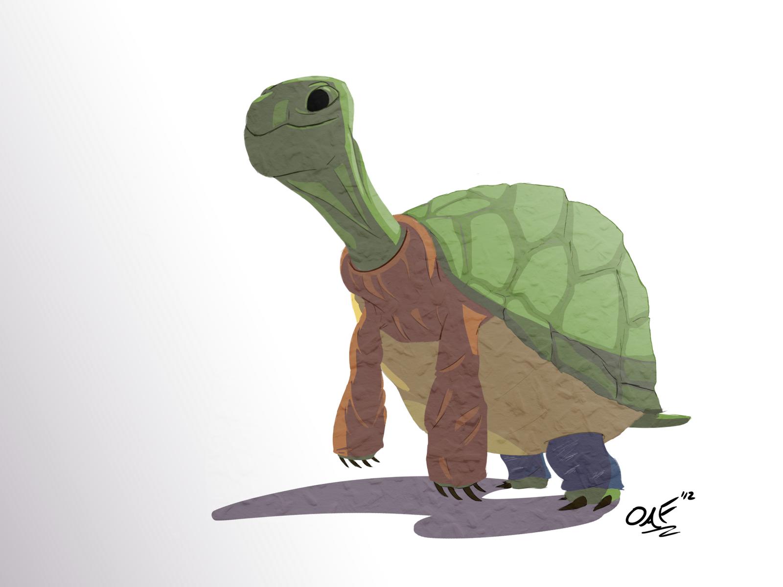 Turtles Wearing Turtlenecks