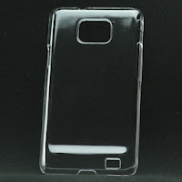 Clear Crystal Back Case Cover for Samsung i9100 Galaxy S2