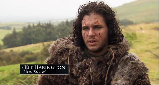 Jon nieve luce nuevo aspecto con una cicatriz que atraviesa su cara en la tercera temporada de Juego de tronos - Juego de Tronos en los siete reinos