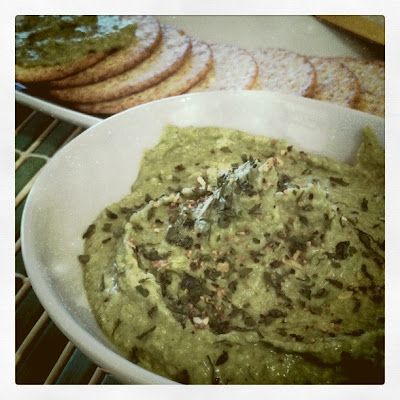 Navy Bean and Spinach Dip