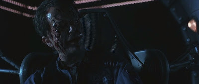 sam neill event Hhorizon 1997 dr. weir eyes body horror