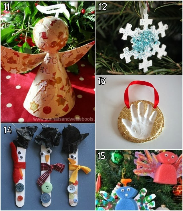 Learn with play at home 26 christmas decorations kids can - Centerpieces kids can make ...