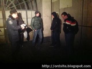 Пойманные ночью на Евромайдане титушки были пьяными.