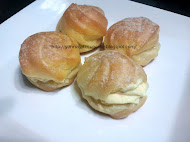 Cream puff (RM30 for 25 pcs)