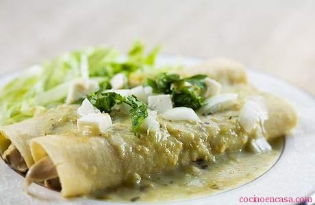 Tu antojo un exquisito platillo enchiladas for Tipos de encielados