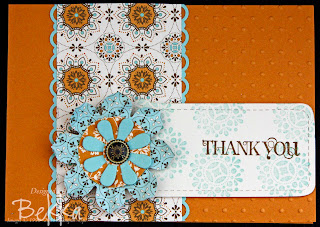 Spice Cake Thank You Card