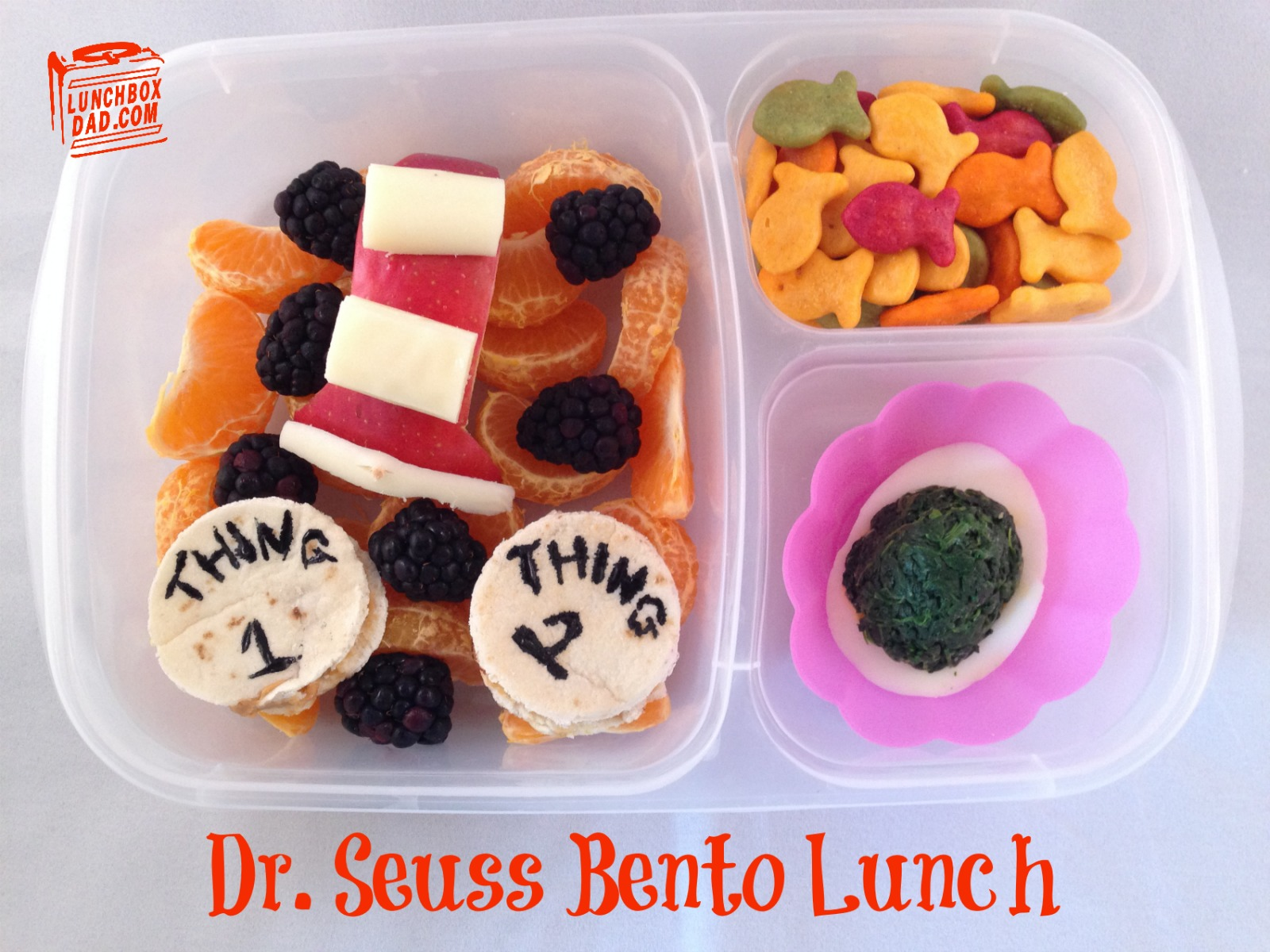 Dr. Seuss Bento Lunch