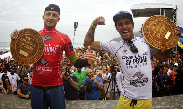 0 2014 ONeill%2BSP%2BPrime Filipe Toledo BRA and Matt Banting AUS Foto ASP