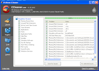 CCleaner latest version 2012