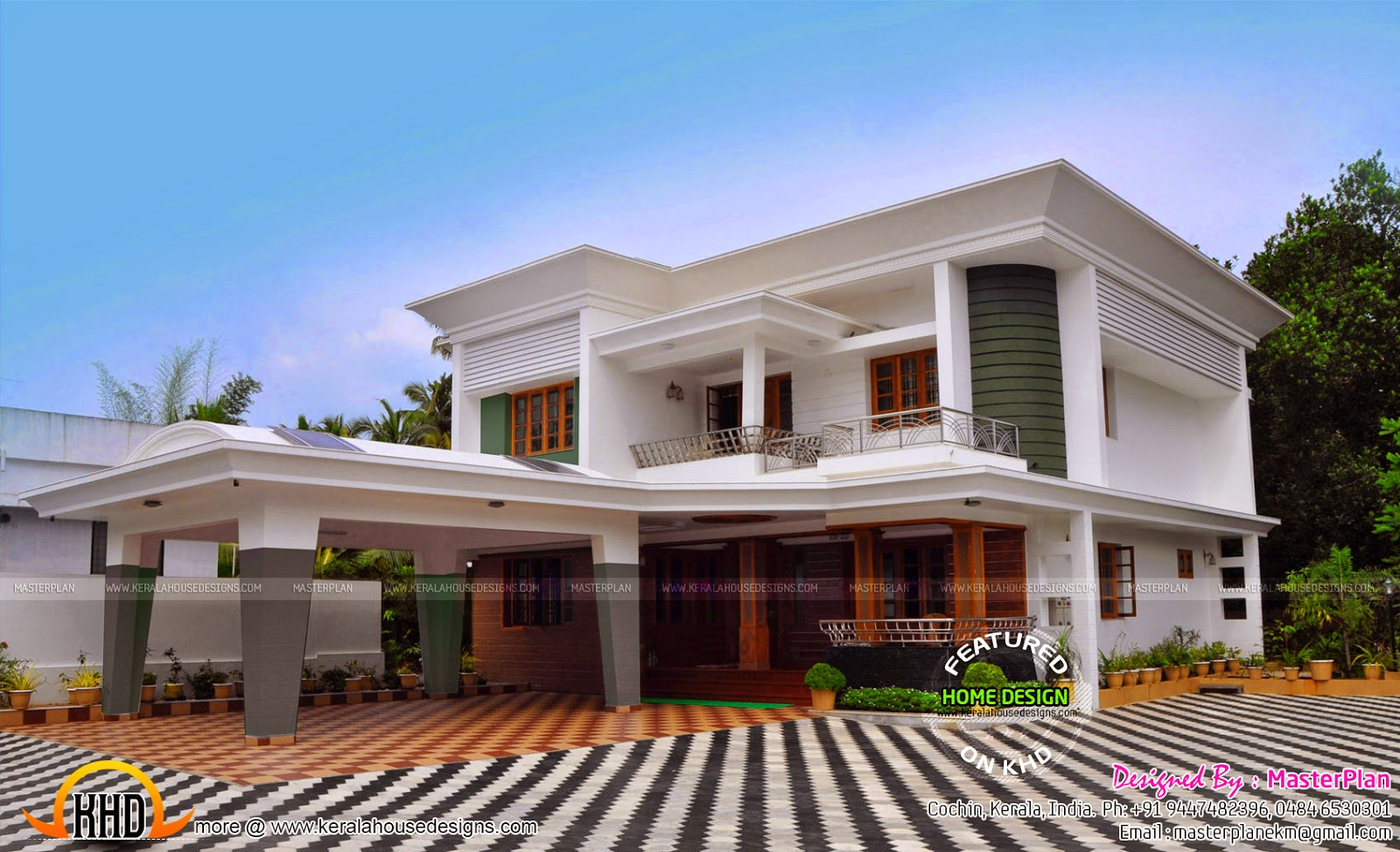 Work finished house plan kerala home design and floor plans for House plans with finished photos