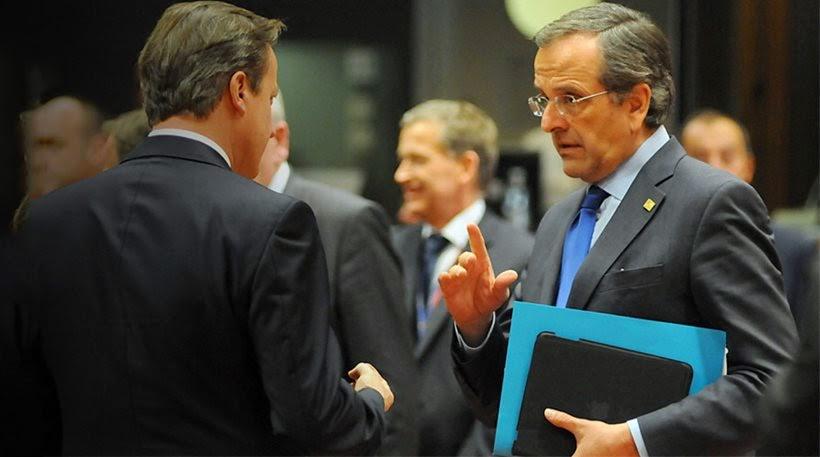 Αντιπαράθεση μεταξύ Σαμαρά και Κάμερον για την Κύπρο