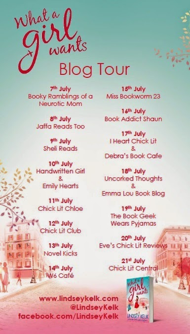 What a Girl Wants Blog Tour