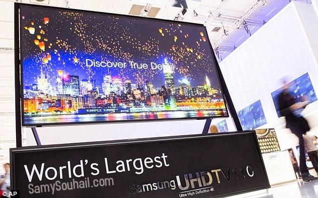 إطلاق أكبر شاشة عرض في العالم خاصة بالمحلات التجارية من سامسونج