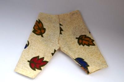 Штаны для кукол, одежда для кукол, как сшить штаны