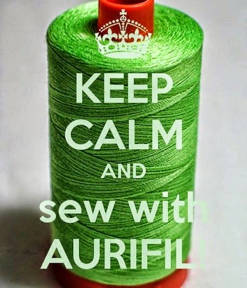 We love Aurifil thread!