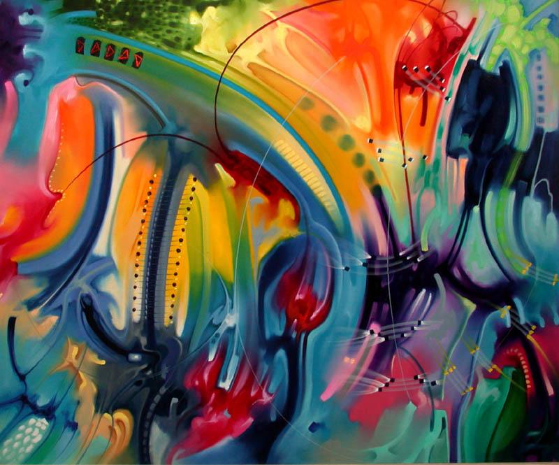 Pintura moderna y fotograf a art stica galer a pinturas - Pinturas de pared modernas ...