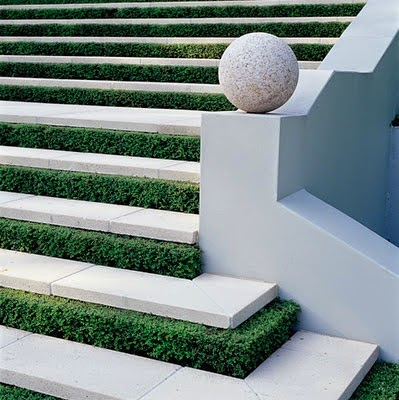 outdoor stairs - natural stone stairs