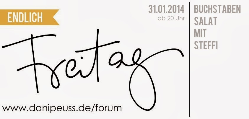 Buchstabensalat mit Steffi - www.danipeuss.de